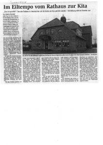 Umbau Rathaus zur Kita